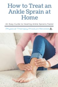 How to Treat Ankle Sprains at Home - See the helpful guide to decrease swelling, improve strength, and return to normal faster.