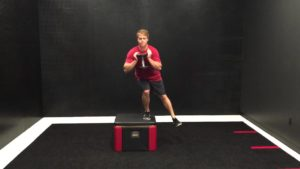 eccentric step down with weight