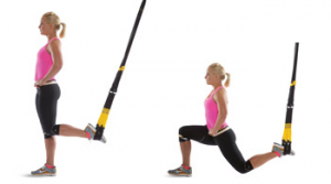TRX Suspended lunge