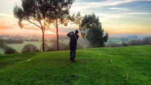 Golfing with low back pain