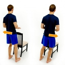 weight shifts after a knee replacment