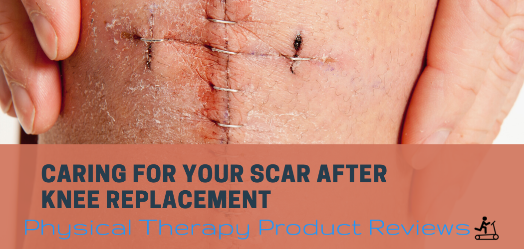Caring for your scar after a knee replacement image