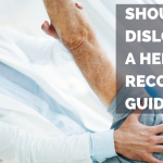 a shoulder dislocation recovery guide