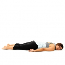 lying on stomach after labral repair