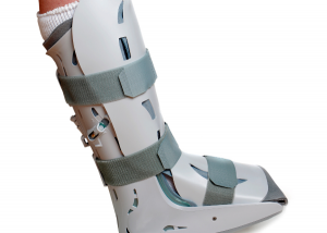 Picture of an orthopedic walking boot
