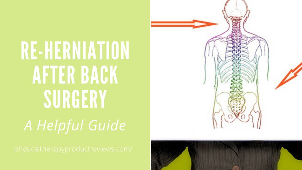 Re-herniation after back surgery