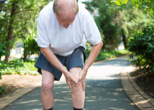 knee pain with a knee replacement