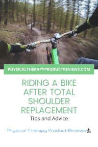 Riding a bike after total shoulder replacement