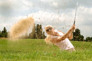 A total shoulder replacement can improve your golf game