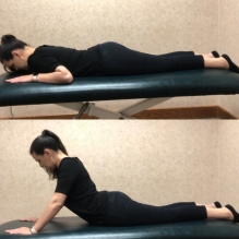 prone press up exercise for back spasms