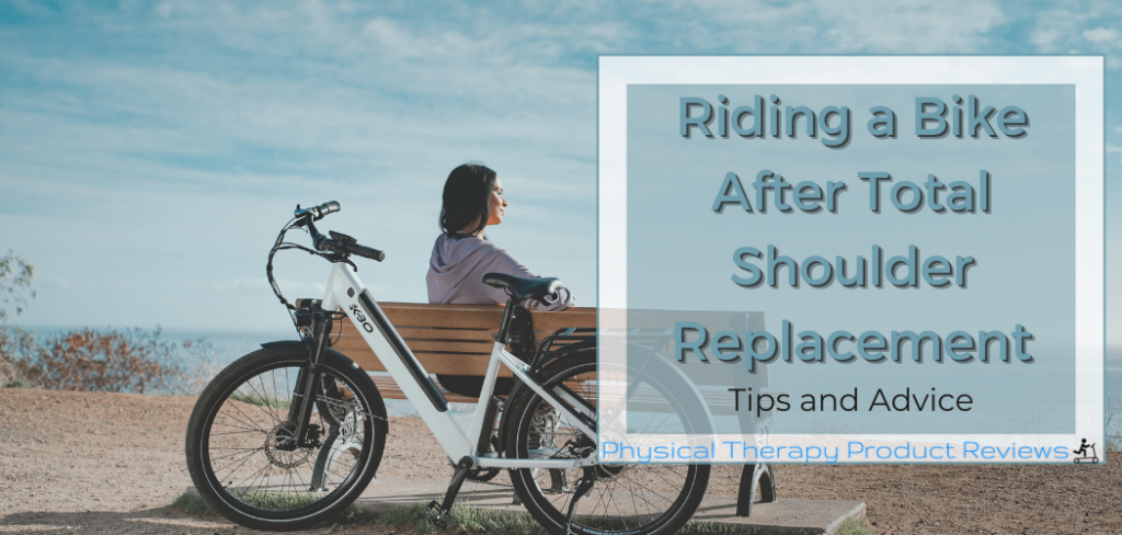 Riding a bike after shoulder replacement