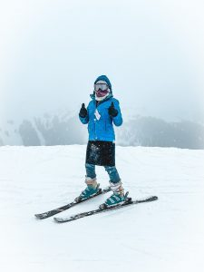 Return to skiing when you're ready