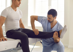 physical therapy for a knee scope